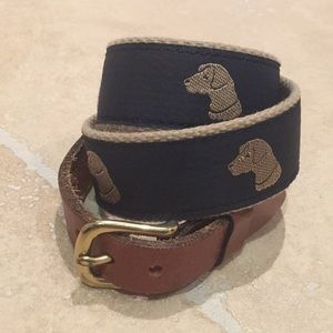Boys Woven Fabric Belts 2 for 1